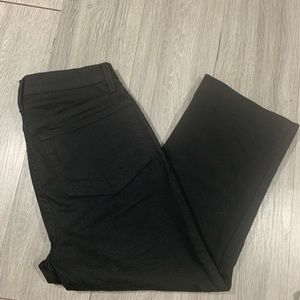 NYDJ New Black Denim Crops size 0P